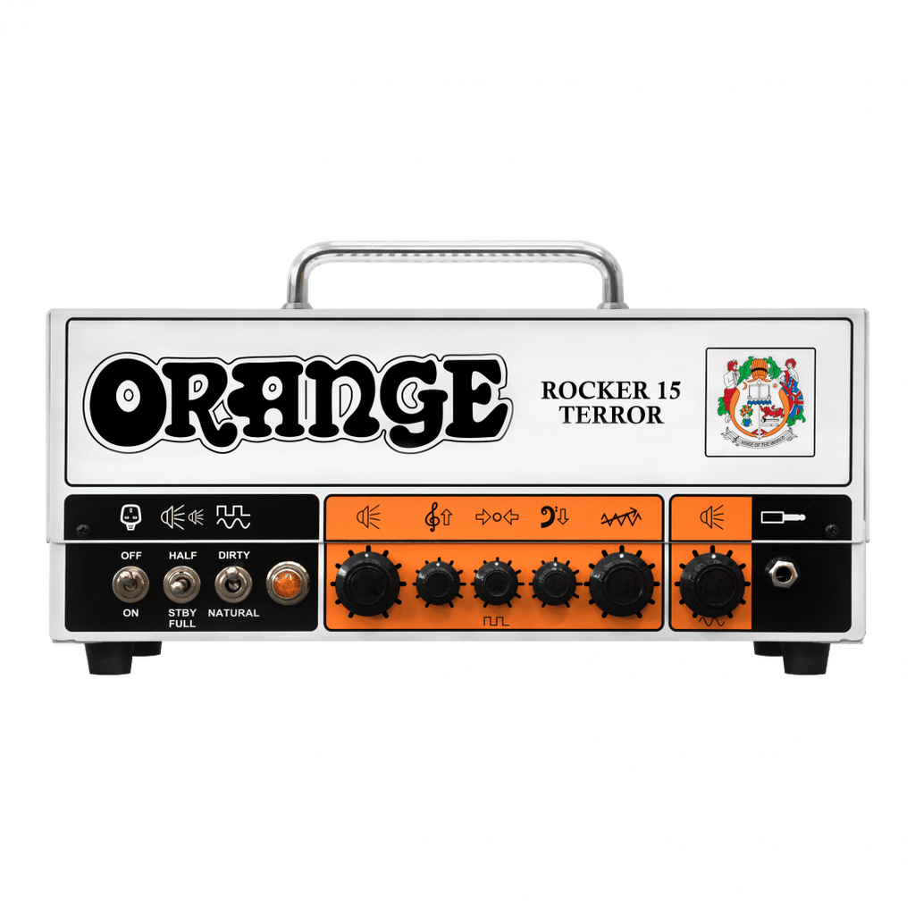 ORANGE ELECTRIC GUITAR AMP HEAD ROCKER15 15-WATT AMP HEAD | Zoso Music