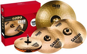 SABIAN B8 PRO PERFORMANCE SET CYMBALS | Zoso Music
