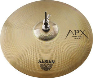 SABIAN 14-INCH APX SOLID HI-HATS | Zoso Music