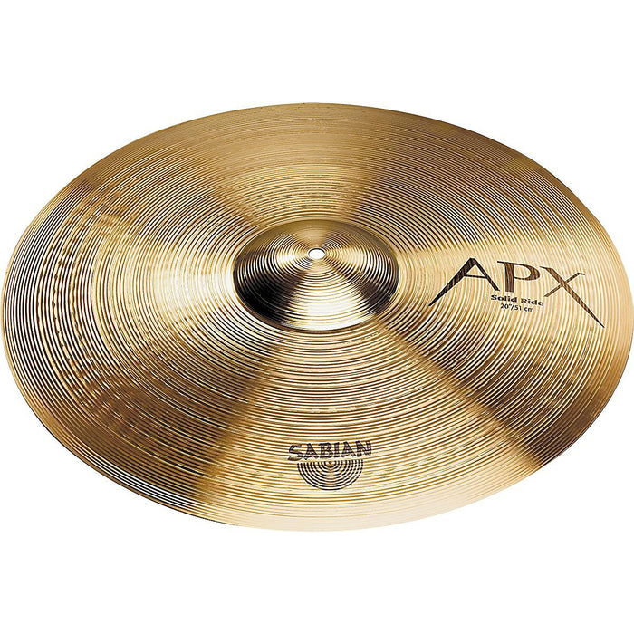 SABIAN 22-INCH APX SOLID RIDE CYMBAL
