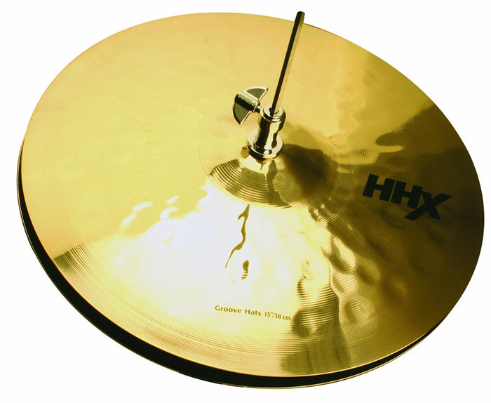 SABIAN 13-INCH HHX GROOVE HATS