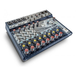 SOUNDCRAFT NOTEPAD-12FX 12 CHANNEL MIXER WITH EFFECTS AND USB | Zoso Music
