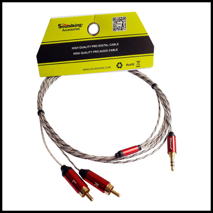 SOUNDKING BJJ409 10 FEET AUDIO CABLE