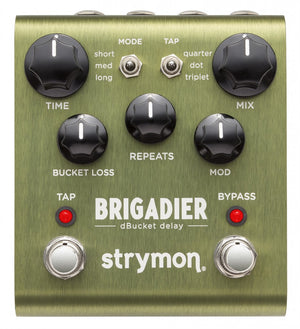 STRYMON BRIGADIER DBUCKET GUITAR EFFECTS PEDAL | Zoso Music
