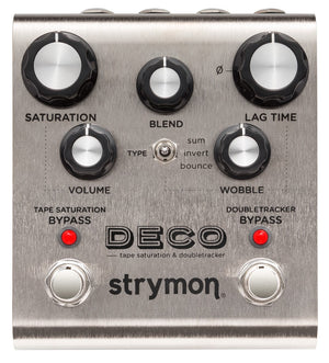 STRYMON DECO TAPE SATURATION & DOUBLETRACKER GUITAR EFFECTS PEDAL | Zoso Music