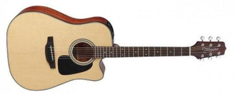TAKAMINE ED1DC DREADNOUGHT ACOUSTIC GUITAR, NATURAL SATIN | Zoso Music