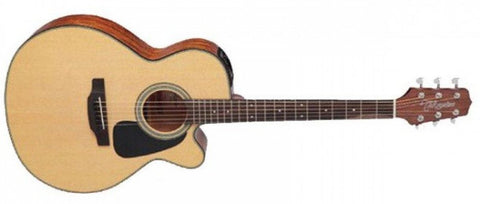 TAKAMINE ED1NC SEMI ACOUSTIC GUITAR, NATURAL SATIN | Zoso Music