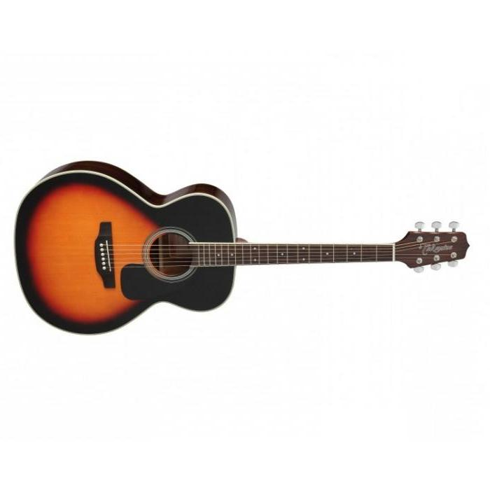TAKAMINE D3N BSB NEX ACOUSTIC GUITAR, BROWN SUNBURST.