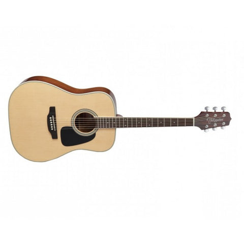 TAKAMINE D3D NAT DREADNOUGHT ACOUSTIC GUITAR, NATURAL.
