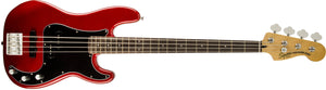 SQUIER VINTAGE MODIFIED PRECISION BASS® PJ CADDY APPLE RED COLOR | Zoso Music