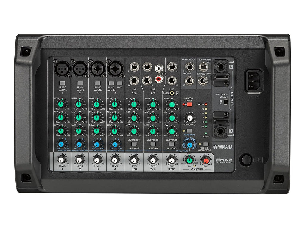 YAMAHA EMX2 10-INPUT STEREO POWERED MIXER WITH DSP EFFECTS | Zoso Music