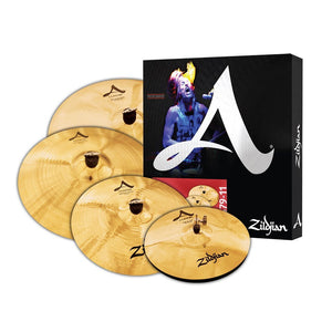 ZILDJIAN A CUSTOM CYMBAL BOX SET | Zoso Music