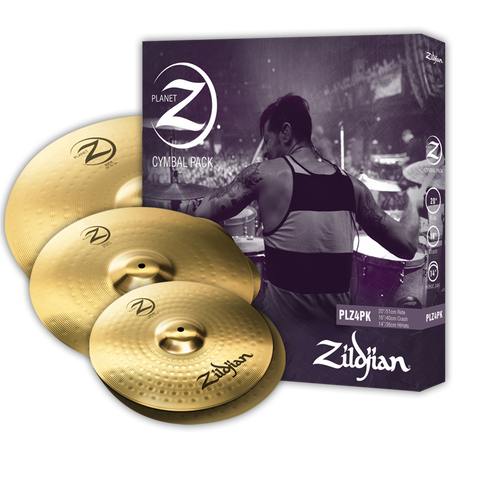 Where to get the cheapest ZILDJIAN PLANET Z CYMBAL SET PLZ4PK - S.E.A Musician