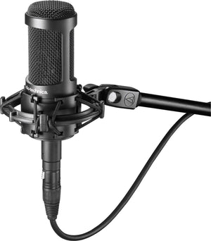 AUDIO TECHNICA AT2035 CARDIOID CONDENSER MICROPHONE | Zoso Music