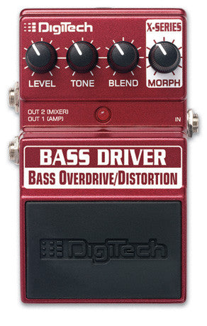 DIGITECH BASS DRIVER | Zoso Music