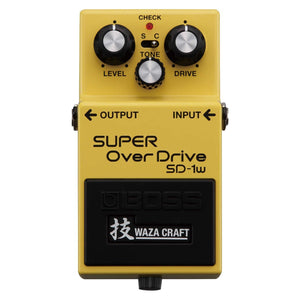 BOSS SD-1W SUPER OVER DRIVE WAZA | Zoso Music