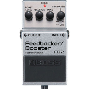 BOSS FB-2 FEEDBACKER/BOOSTER PEDAL | Zoso Music