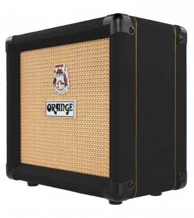 ORANGE CRUSH CR12 BK GUITAR AMPLIFIER COMBO BLACK | Zoso Music