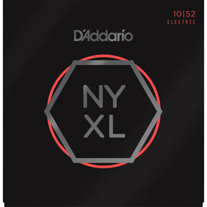 D'ADDARIO NYXL1052 NICKEL WOUND, LIGHT TOP / HEAVY BOTTOM, 10-52 | Zoso Music