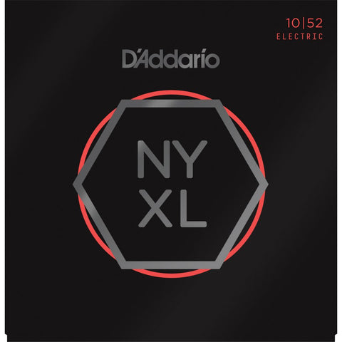 D'ADDARIO NYXL1052 NICKEL WOUND, LIGHT TOP / HEAVY BOTTOM, 10-52