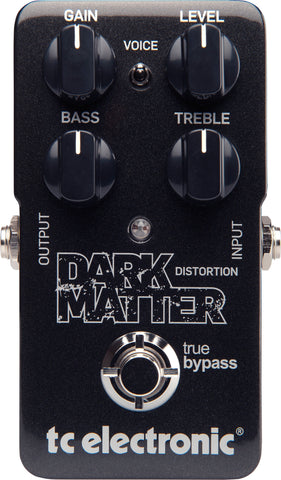 TC ELECTRONIC DARK MATTER DISTORTION | Zoso Music