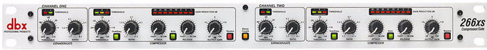 DBX 266XS 2-CHANNEL COMPRESSOR / GATE