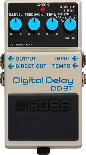 BOSS DD-3T DIGITAL DELAY PEDAL (DD3T)