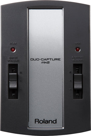 ROLAND DUO-CAPTURE MK2 USB AUDIO INTERFACE (UA-11-MK2) | Zoso Music