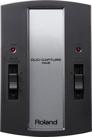 ROLAND DUO-CAPTURE MK2 USB AUDIO INTERFACE (UA-11-MK2)