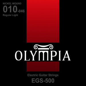 OLYMPIA EGS-500 NICKEL WOUND ELECTRIC GUITAR STRING 10-46 | Zoso Music