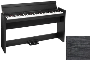 KORG LP380 88 KEYS DIGITAL PIANO (MADE IN JAPAN) ROSEWOOD BLACK