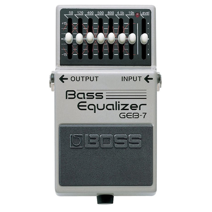 BOSS GEB-7 7-BAND BASS EQUALIZER PEDAL
