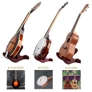 MUGIG UNIVERSAL X-FRAME STYLE WOODEN GUITAR STAND | Zoso Music
