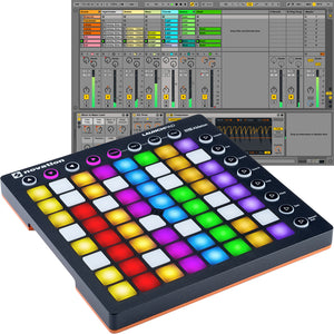 NOVATION LAUNCHPAD ABLETON LIVE CONTROLLER WITH 64 RGB BACKLIT PADS (8X8 GRID) | Zoso Music