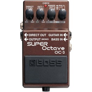 BOSS OC-3 SUPER OCTAVE PEDAL | Zoso Music