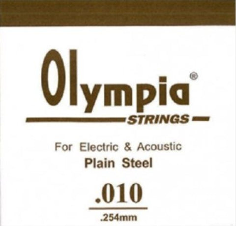 OLYMPIA 100PCS SINGLE STRING 010 FOR ELECTRIC GUITAR & ACOUSTIC