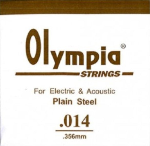 OLYMPIA 100PCS SINGLE STRING 014 FOR ELECTRIC GUITAR & ACOUSTIC