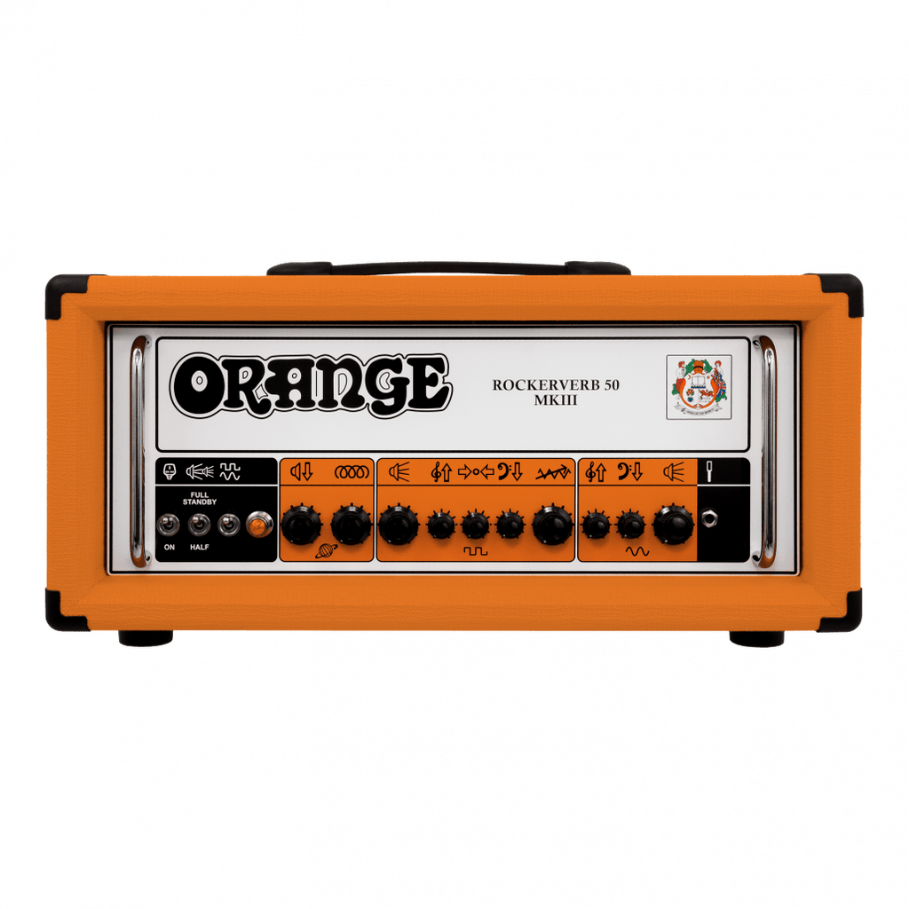 ORANGE ROCKERVERB 50 MKIII 50-WATTS TUBE GUITAR HEAD AMPLIFIER | Zoso Music