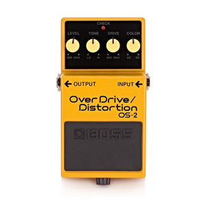 BOSS OS-2 OVERDRIVE/DISTORTION PEDAL | Zoso Music