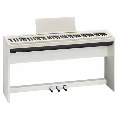 ROLAND FP30WH 88-KEYS DIGITAL PIANO | Zoso Music