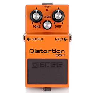 BOSS DS-1 DISTORTION PEDAL | Zoso Music