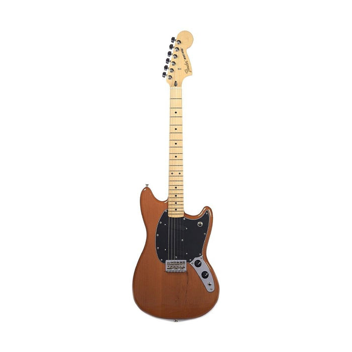 Fender Special Edition Mustang Electric Guitar, Maple FB, Faded Mocha