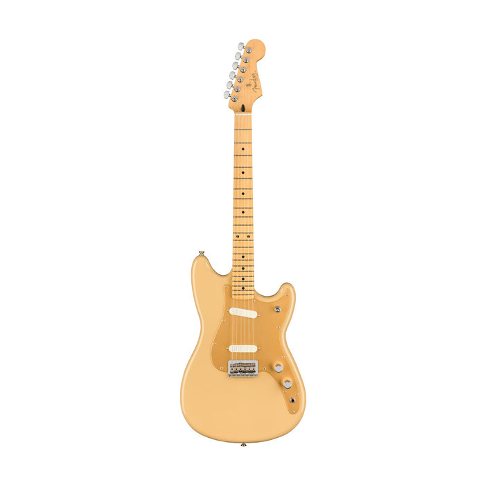 Fender Player Duo-Sonic Electric Guitar, Maple FB, Desert Sand