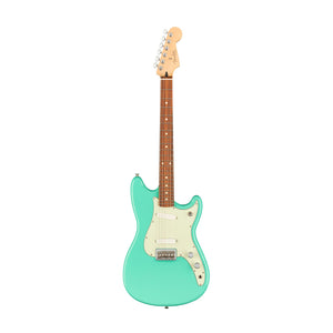Fender Player Duo-Sonic Electric Guitar, Pau Ferro FB, Seafoam Green