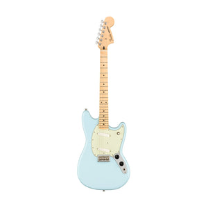 Fender Player Mustang Electric Guitar, Maple FB, Sonic Blue