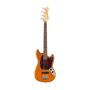 Fender Player Mustang PJ Bass Guitar, Pau Ferro FB, Aged Natural