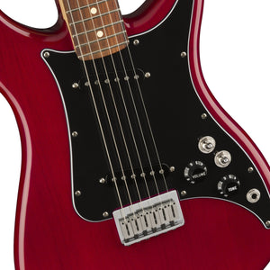 Fender Player Lead II Electric Guitar, Pau Ferro FB, Crimson Red Transparent