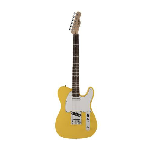 SQUIER FSR AFFINITY TELECASTER ELECTRIC GUITAR, LAUREL FB, GRAFFITY YELLOW 370200574