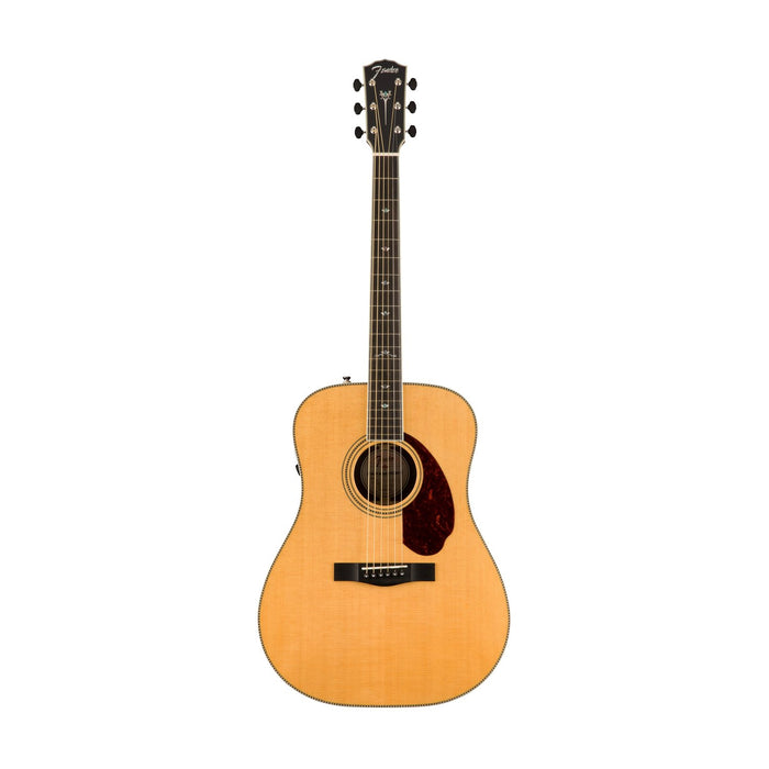 Fender PM-1 Deluxe Dreadnought Acoustic Guitar w/ Case, Natural