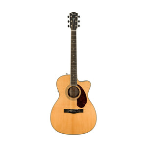 Fender PM-3 Deluxe Triple 0 Acoustic Guitar w/ Case, Natural